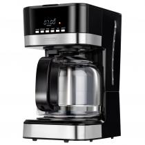 MPM MKW-05 Cafetera programable eléctrica goteo automática , máquina café filtro capacidad 15 tazas, 1.8 litros
