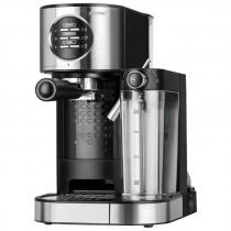 MPM MKW-07M Cafetera express 15 bares, para realizar café espresso y cappuccino, depósito calentar leche 0,7 litros, calienta tazas ,acabado acero inoxidable, depósito de agua 1,2 L desmontable, 1470W