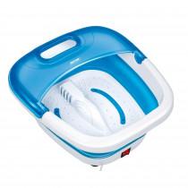 MPM MMS-04 Masajeador de Pies con Agua Plegable, masaje de Burbujas, Agua Caliente, Hipoalergénico, infrarrojos, 90 W