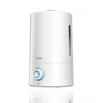 PM MNP-03 Humidificador Ultrasónico Silencioso, Aceites esenciales, 300 ml/h, Grande, 5 Litros, Filtro de Cerámica, 30 m², 50 Horas, Eléctrico, Blanco