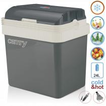 Camry CR 8065 - Nevera portátil eléctrica de viaje para coche, camping, 12V/230V, capacidad 24 Litros