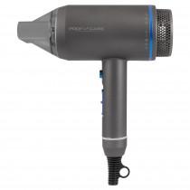 Proficare HT 3082 Secador Pelo Profesional Iónico, Diseño de Tubo, Iluminación LED, 3 Niveles Temperatura y Potencia, Boquilla Concentradora 360ºC, Azul, 1800W Azul