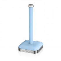 Swan SWKA1040BLN Porta Rollos de papel de cocina, acero inoxidable alta calidad, vintage diseño retro Azul