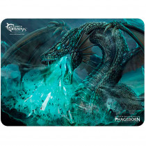 White-Shark MP1898 Alfombrilla para Ratón 400 x 300 mm, Speed Gaming Mouse Pad, Antideslizante