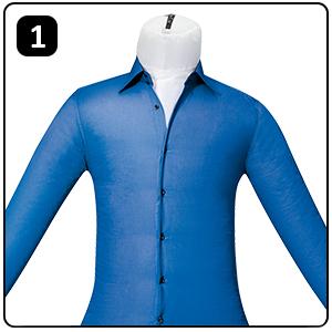 Maniqui de planchado y secador de camisas y blusas clatronic hbb 3707