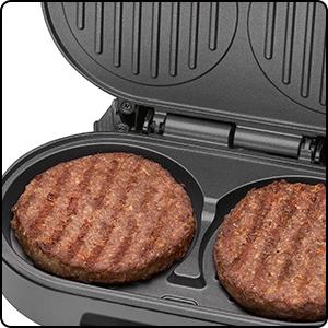 Máquina para hacer hamburguesas