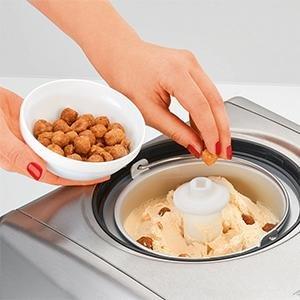 Proficook ICM 1091 Heladera con compresor máquina hacer helados sorbetes y máquina yogourt