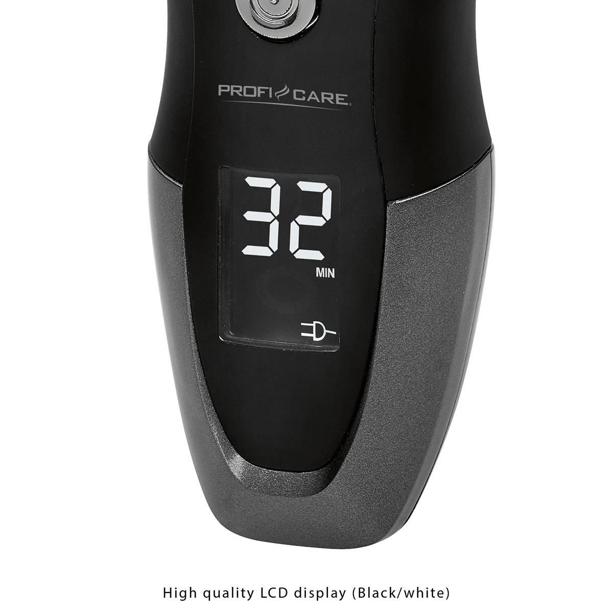 Afeitadora rotativa eléctrica Proficare HR 3012