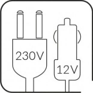 CAMRY CR-8062 Nevera Portátil Camping, 20 Litros, 12 V 220-240V, Control de temperatura, Frío y Calor. Adaptador para coche, Silencioso, Puerta transparente
