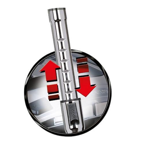 MPM Bora 2 Aspirador sin Bolsa para Sólidos y Líquidos, Filtrod de Agua, 7 Accesorios, Contenedor de 1,2L, Filtro Hepa 13, 9 metros, 850W