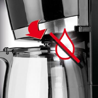 MPM MKW 02 Cafetera eléctrica de goteo automática , Bloqueo