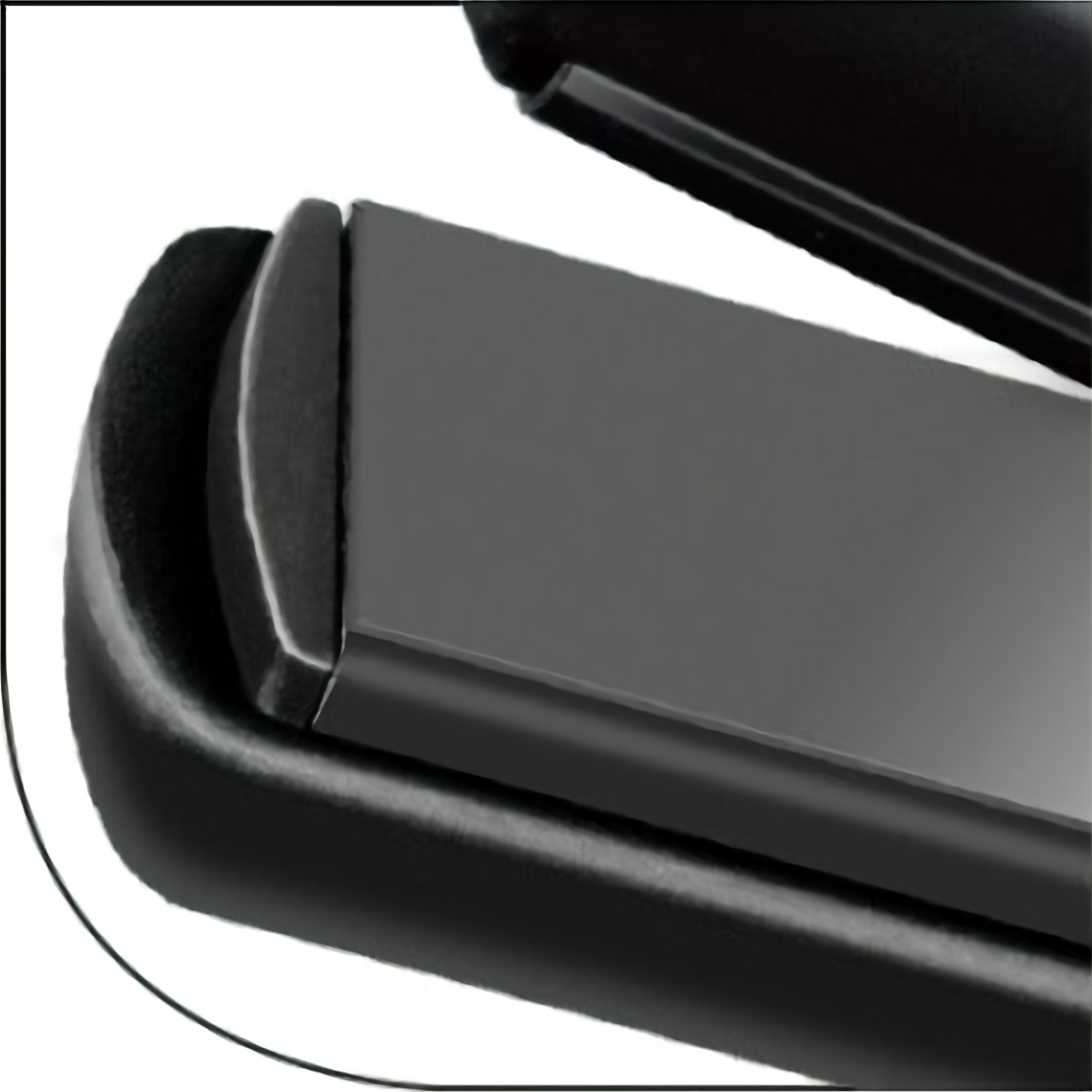 MPM MPR-07 Plancha de pelo de Cerámica Profesional, Anti encrespamiento, 30W
