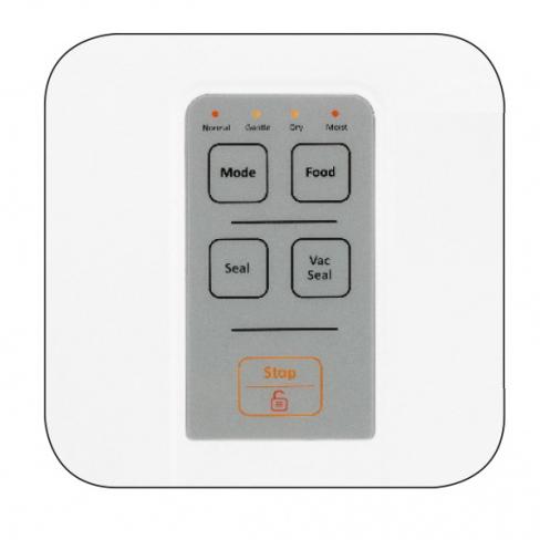MPM MPZ-01 Envasadora al vacio para alimentos automática doméstica, sellado automático, ( 0,6 bar - 3,5 l/min) incluye 1 rollo gofrado 25cm x 5m libre BPA