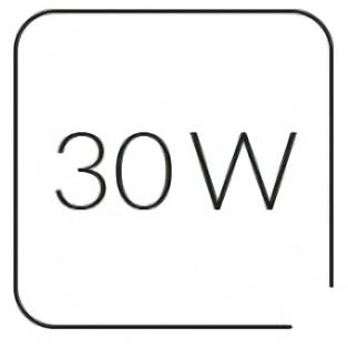 MPM MWC-02 Exprimidor eléctrico para Cítricos, zumo naranja, jarra independiente 600ml, doble sentido giro, cubierta antipolvo, blanco, 30W
