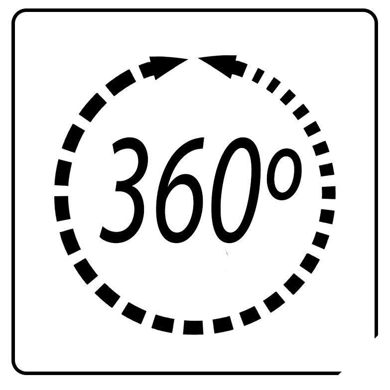 MPM MWP-18 Ventilador suelo industrial circulatorio silencioso oscilante 360°, 3 velocidades, 53cm, negro, 90W