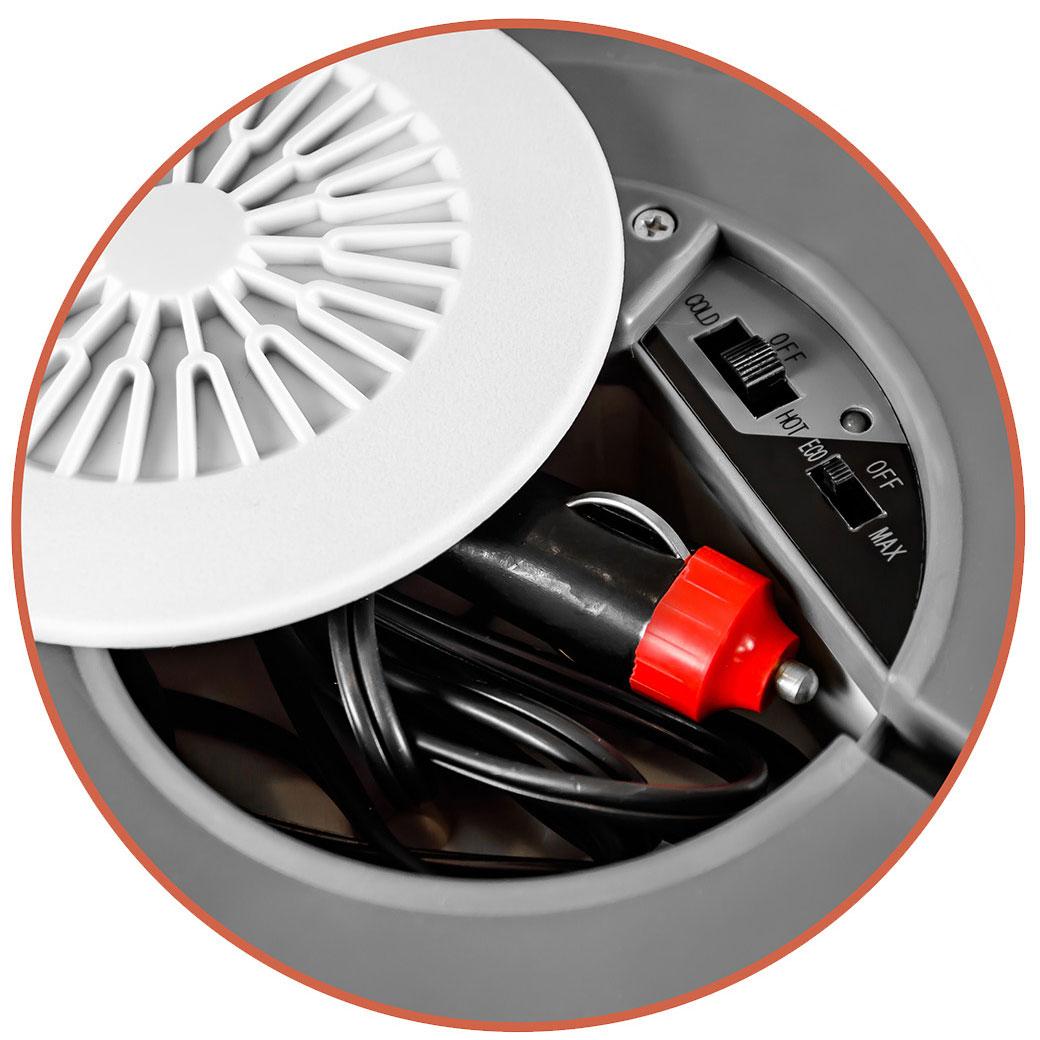 Camry CR 93 - Nevera portátil eléctrica de viaje para coche, camping,