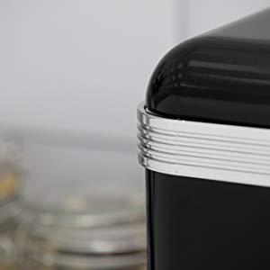 Swan Panera metálica con capacidad 18 litros vintage diseño retro