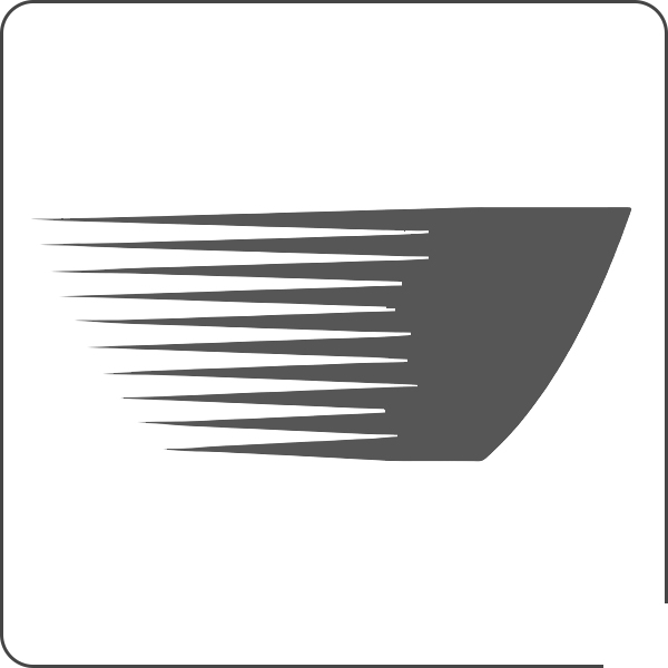 MESKO MS2226 Secador de pelo de Viaje, 2 ajustes de Velocidad, Plegable, 1200W