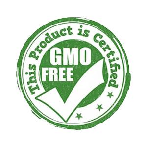 Fabricados con materias no modificadas geneticamente