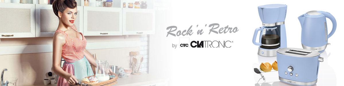 Set desayuno Clatronic Rock & Retro