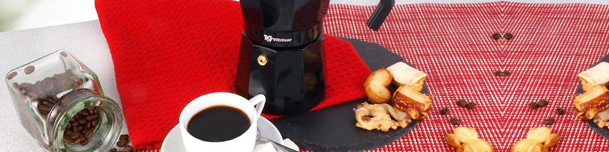 Cafetera Induccion Vitrincor Black