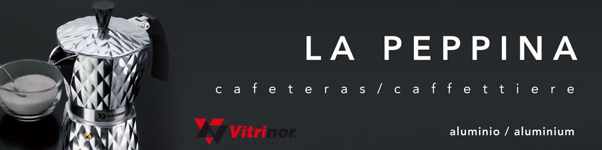 Cafetera Induccion Vitrinor Peppina
