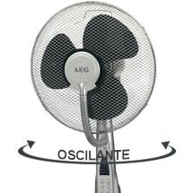 AEG VL 5569 LB - Ventilador de pie oscilante con nebulizador de agua