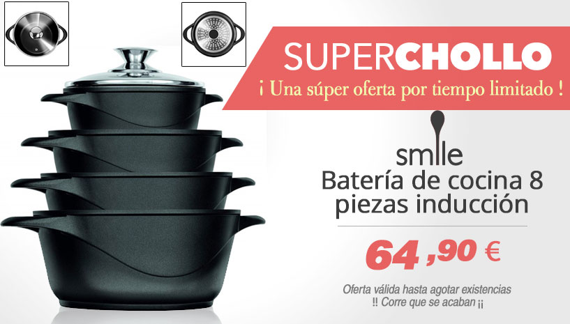 Bateria de cocina Smile