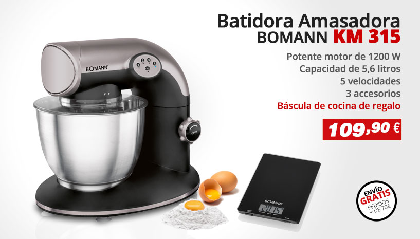 Batidora Amasadora Bomann KM 315