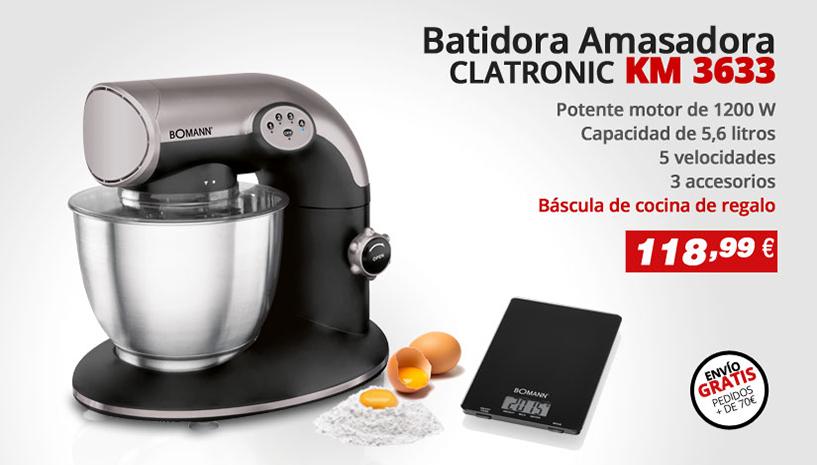 Batidora Amasadora Clatronic 3633