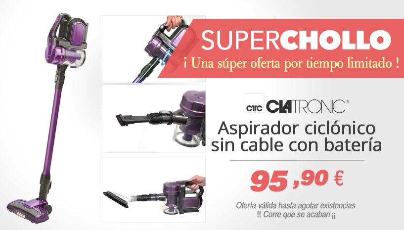 Oferta Super Chollo aspirador ciclonico Clatronic BS 1307