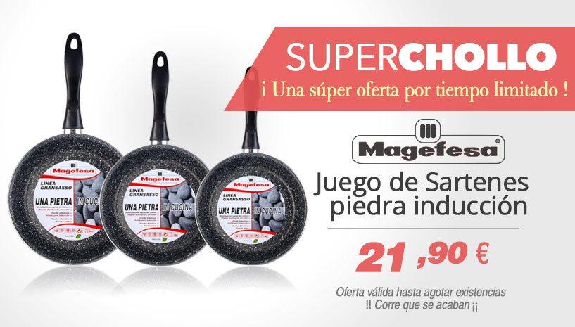 Oferta Super Chollo Sartenes Magefesa K2 Gransasso
