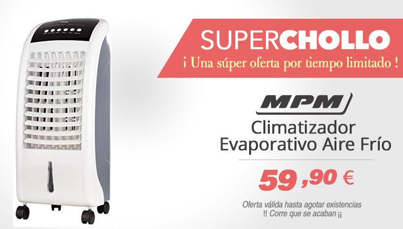 MPM MKL-03 Climatizador evaporativo enfriador aire portátil